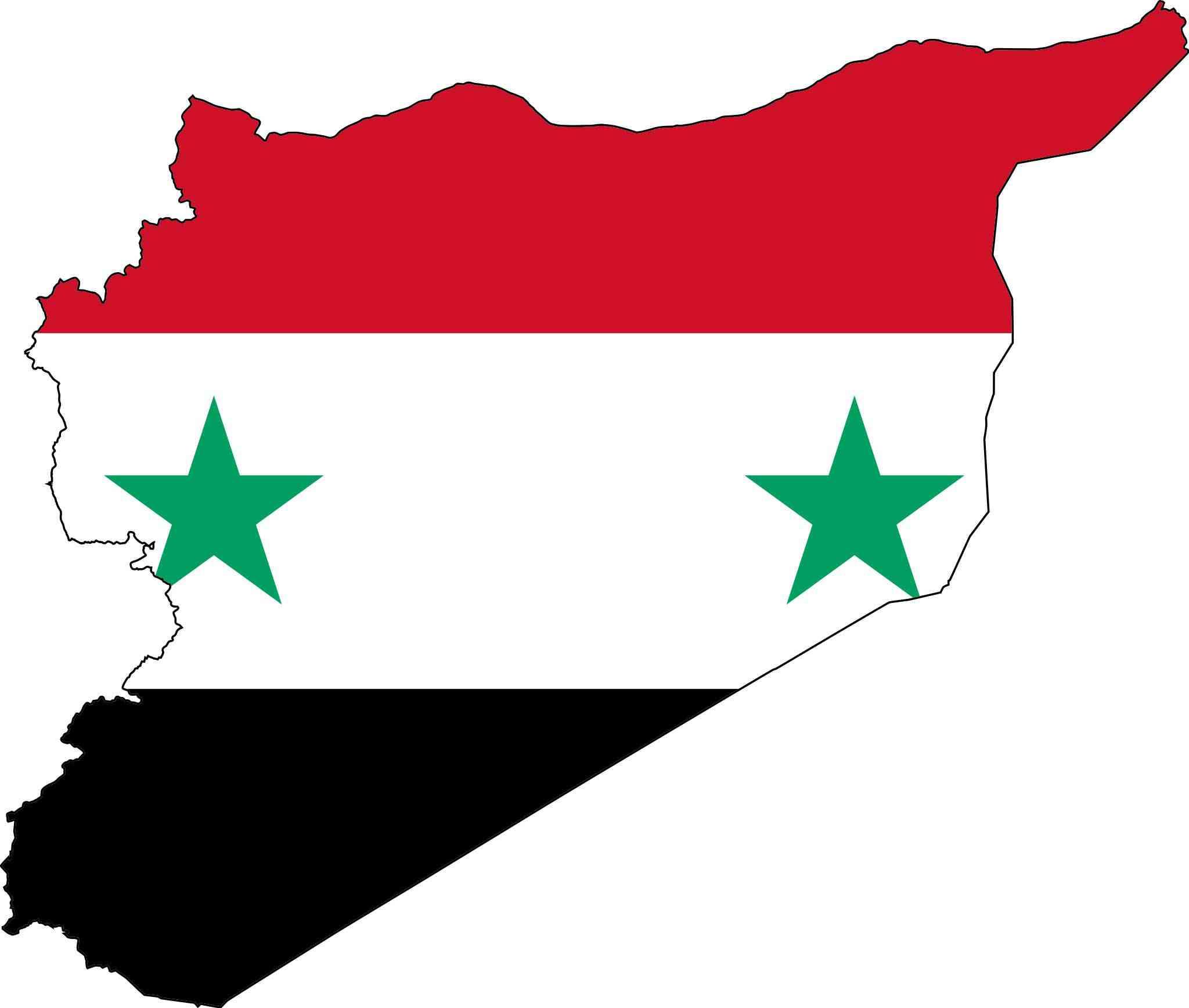 la syrie drapeau