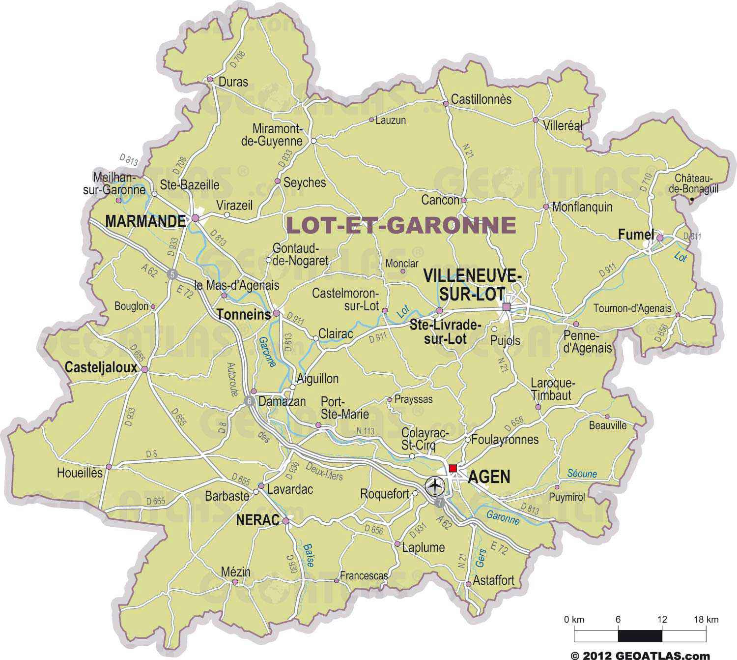 lot et garonne departement 47