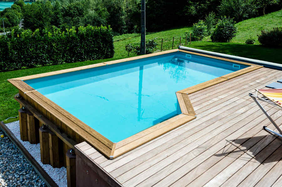 piscine bois leroy merlin photo piscine bois semi enterr
