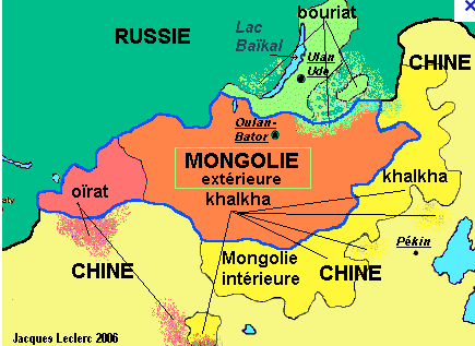 republique de mongolie