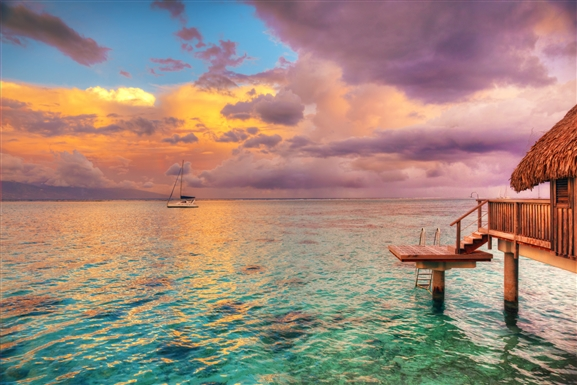 tahiti la plus grande ile de polynesie