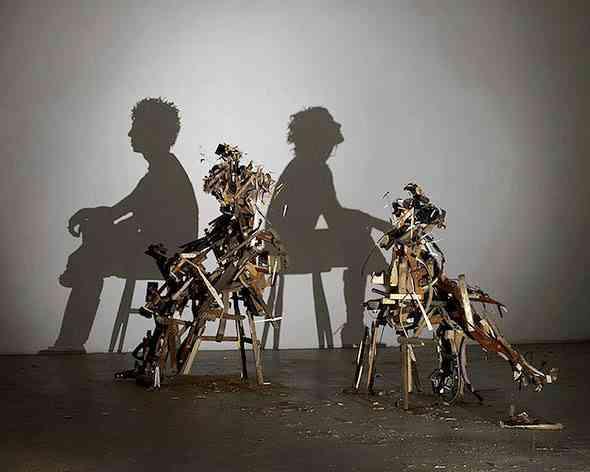 tim noble et sue webster sculptures et ombres