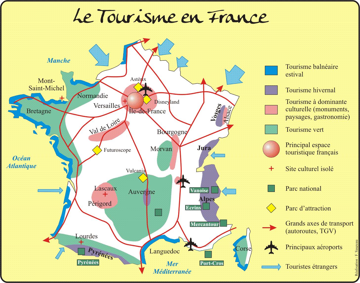 vacances france tourisme
