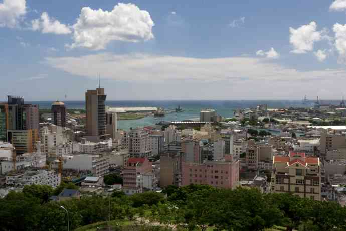 ville de port louis ile maurice