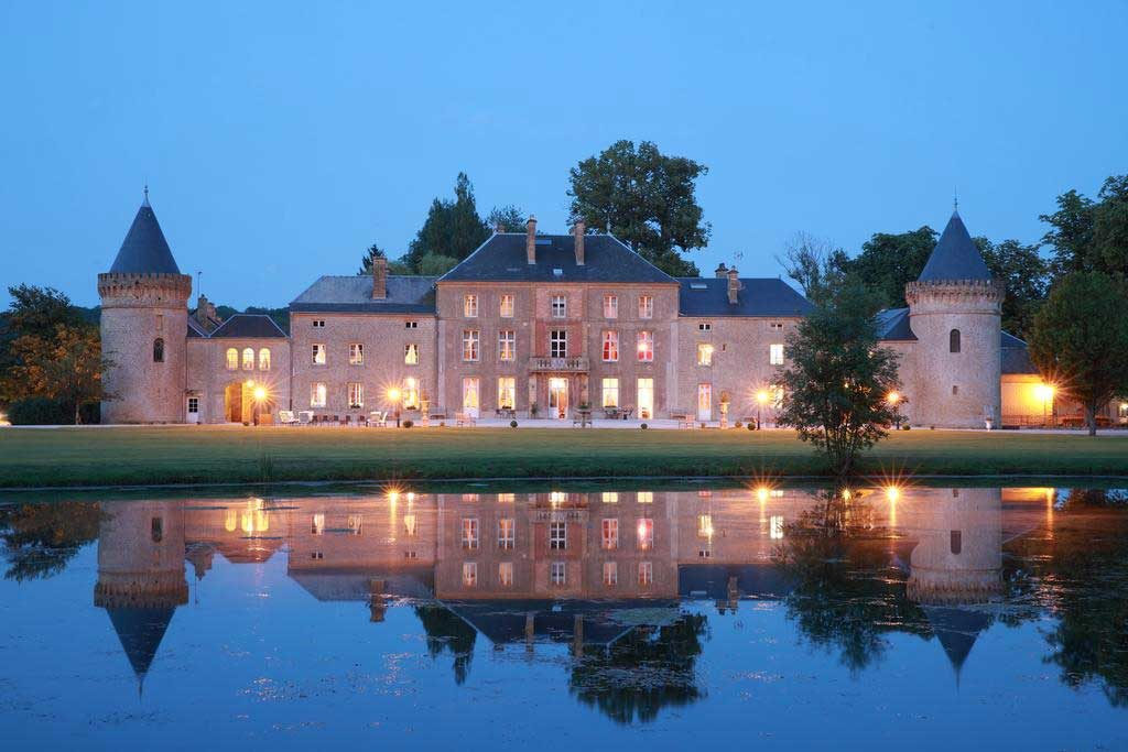 Photo de nuit Chateau du faucon
