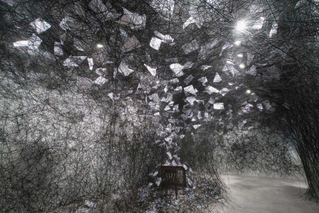 Chiharu Shiota exposition dusseldorf