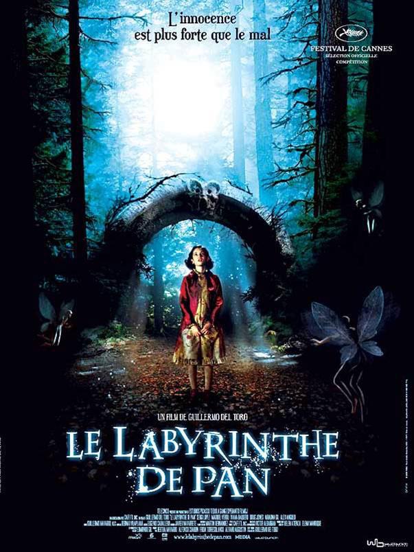 le-labyrinthe-de-pan - Affiiche