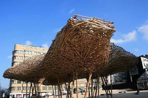 Arne Quinze sculpture