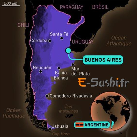 Carte de Buenos Aires