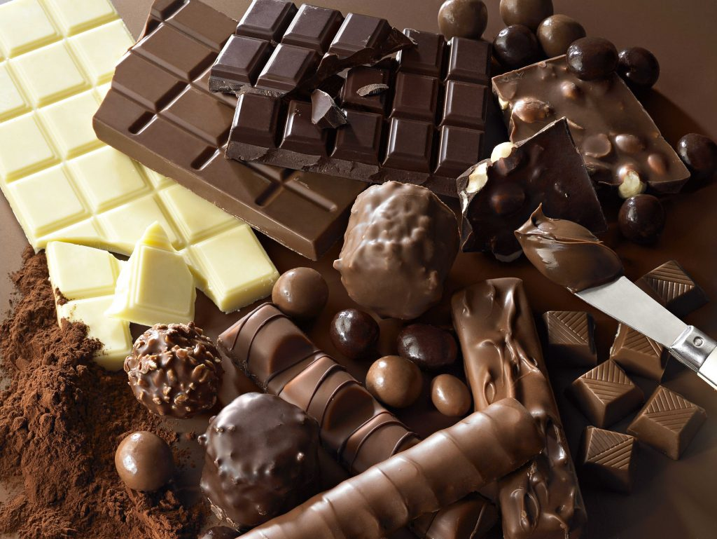 Chocolat blanc - chocolat noir