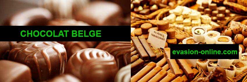 Les chocolats belges