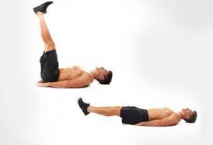 Exercice abdos pour ventre plat