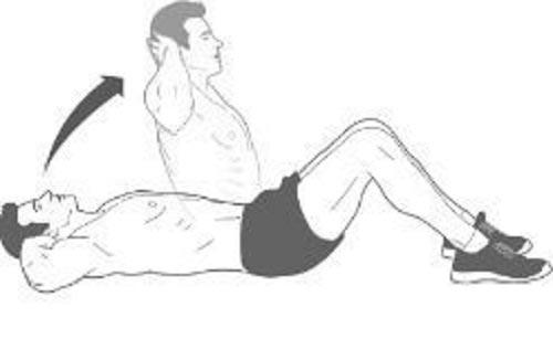 Exercice abdos facile