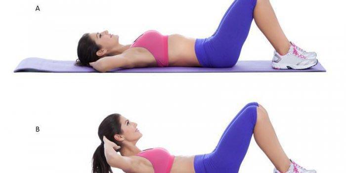 Exercice pour abdominaux du haut