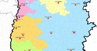 Carte de la Seine et Marne