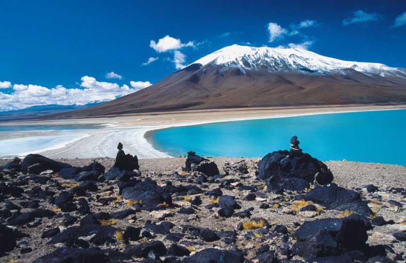 Paysage de Bolivie - Laguna verde