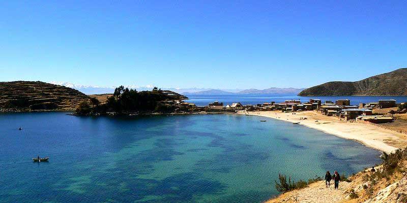 Photo du lac Titicaca