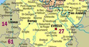 Carte - Eure