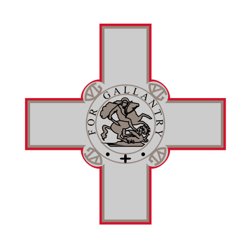 Blason et croix de Malte