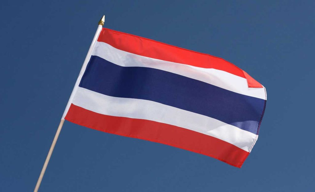Drapeau Thailandais