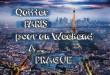 Paris-Prague Voyage