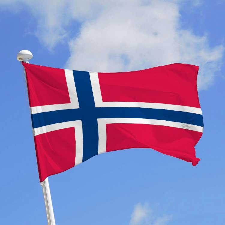 Drapeau de Norvège