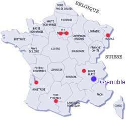Grenoble - Carte France