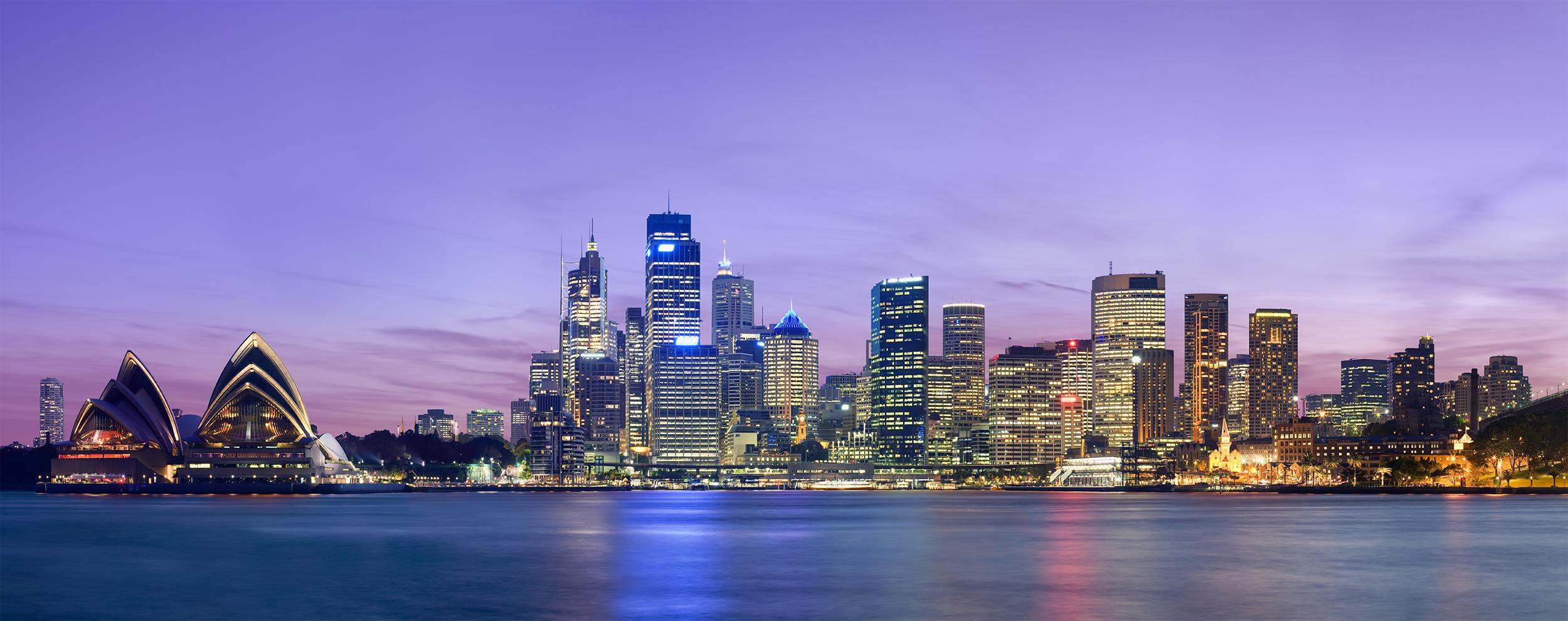 Sydney - Photo de nuit