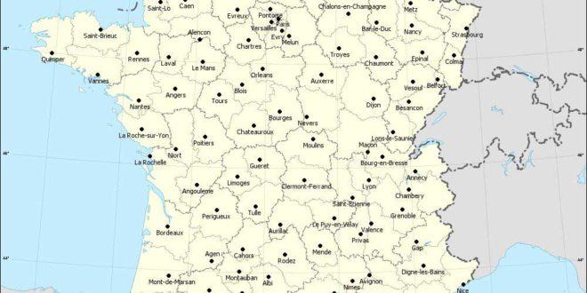 Lille - Carte de France