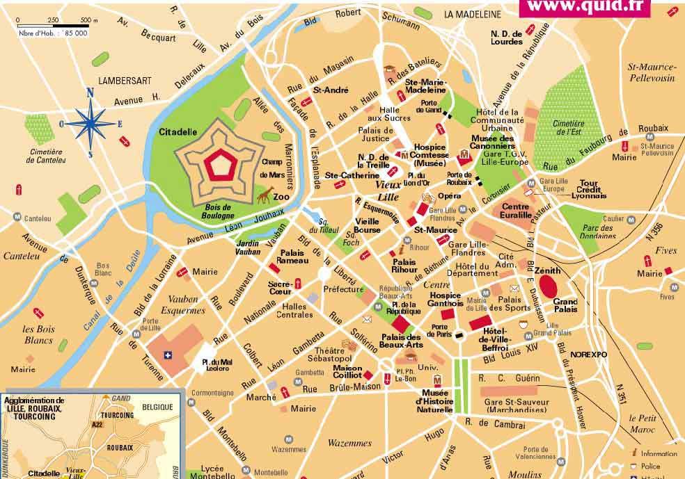 Plan de Lille