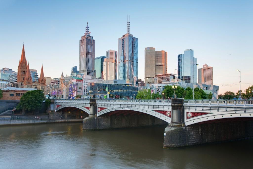 Melbourne Princes Bridge