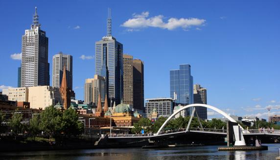Photo de la ville de Melbourne