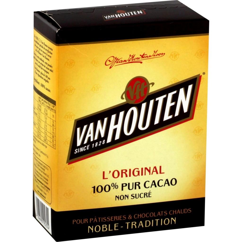 Tablette de chocolat Van-Houten