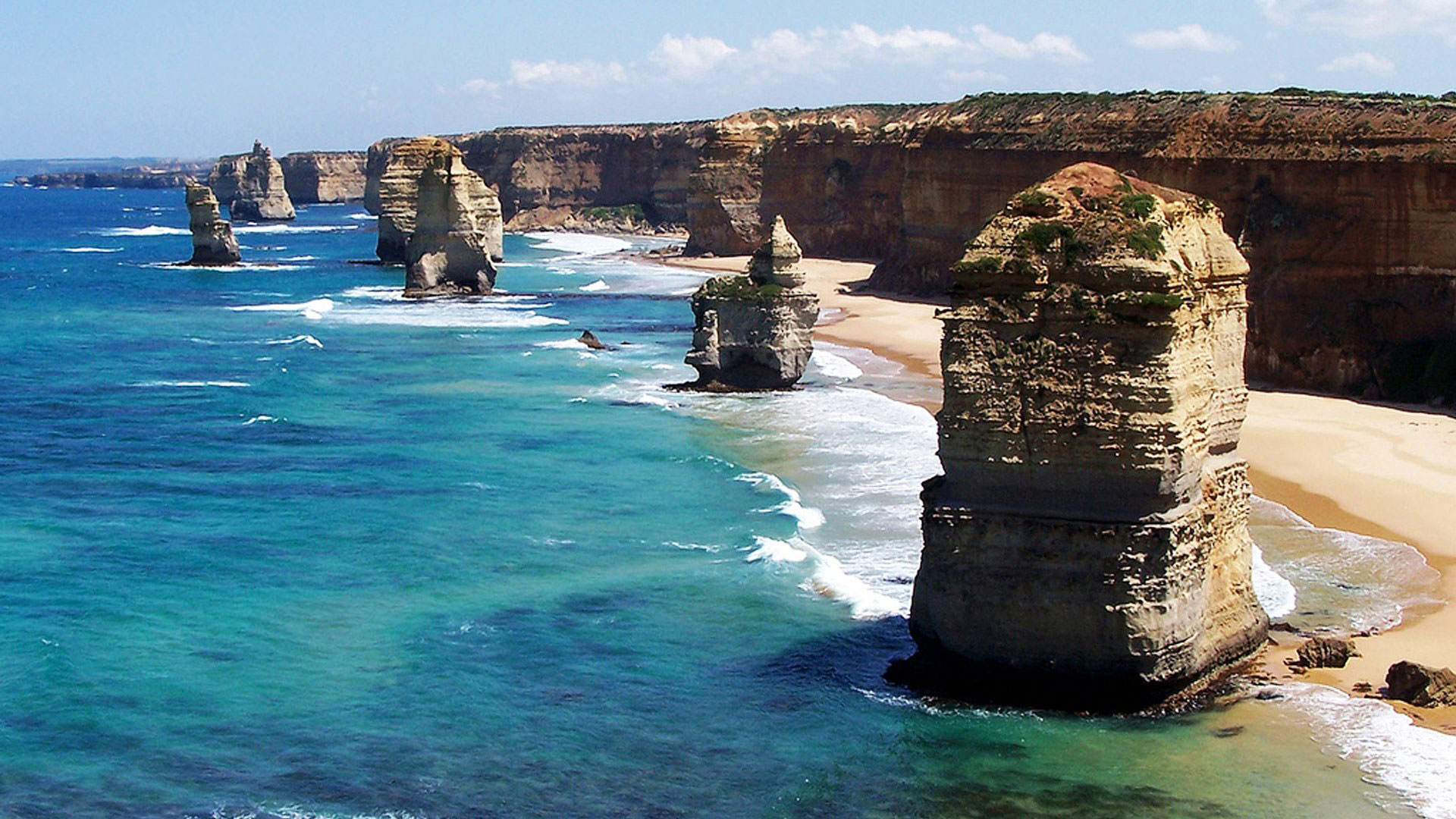 the twelve apostles - Côte de Melbourne