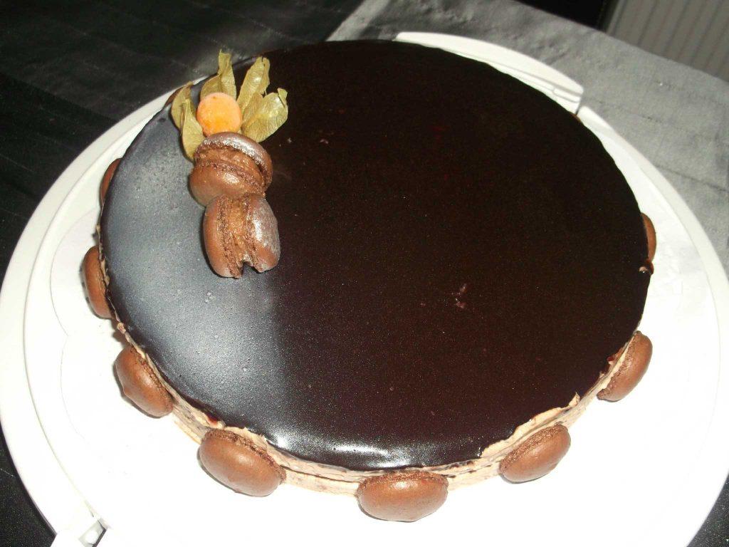 Royal Chocolat et son glaçage chocolat