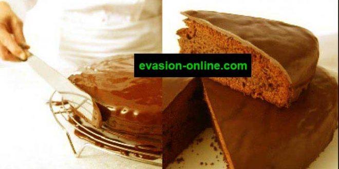 Glacage-chocolat - recette