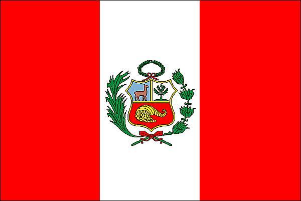 Couleurs Drapeau Pérou