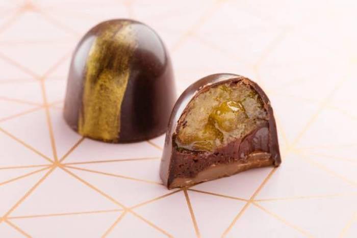 Bonbon au chocolat citrus