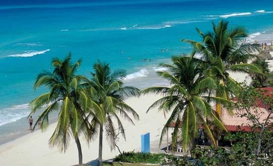Plage de Varadero à Cuba