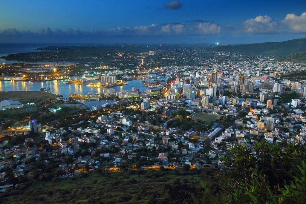 Photo de la ville mauricienne de Port Louis