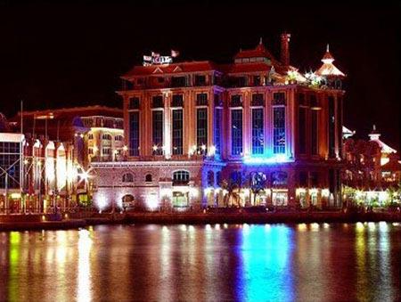 Port louis capitale - photo nuit