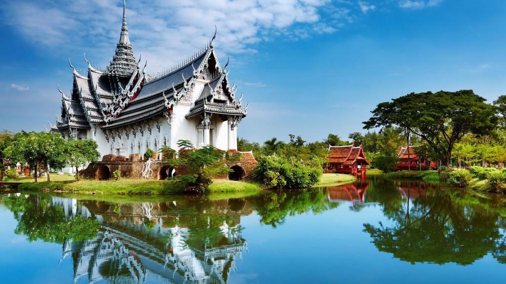 Temple de Thailande