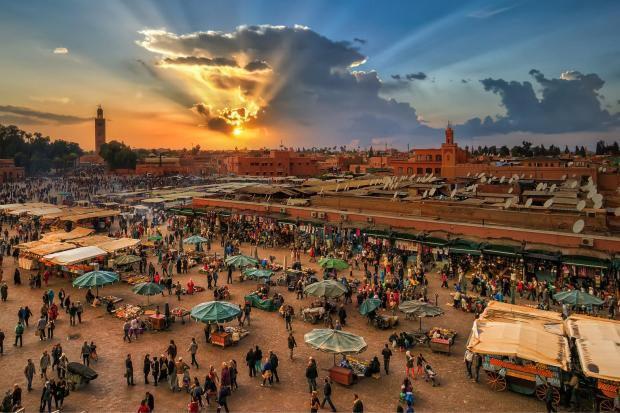 Ville de marrakech - Photo