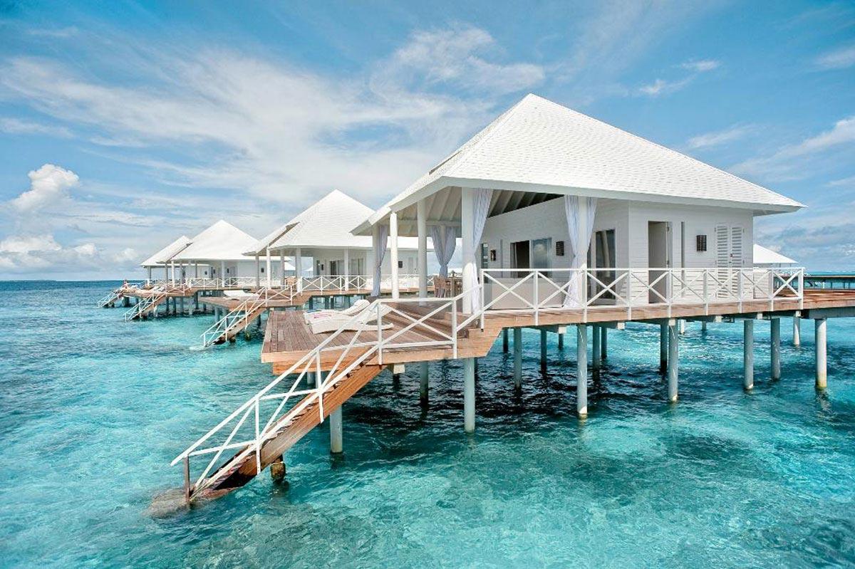 Partir aux maldives vacances arts guides voyages - Maison sur pilotis maldives ...