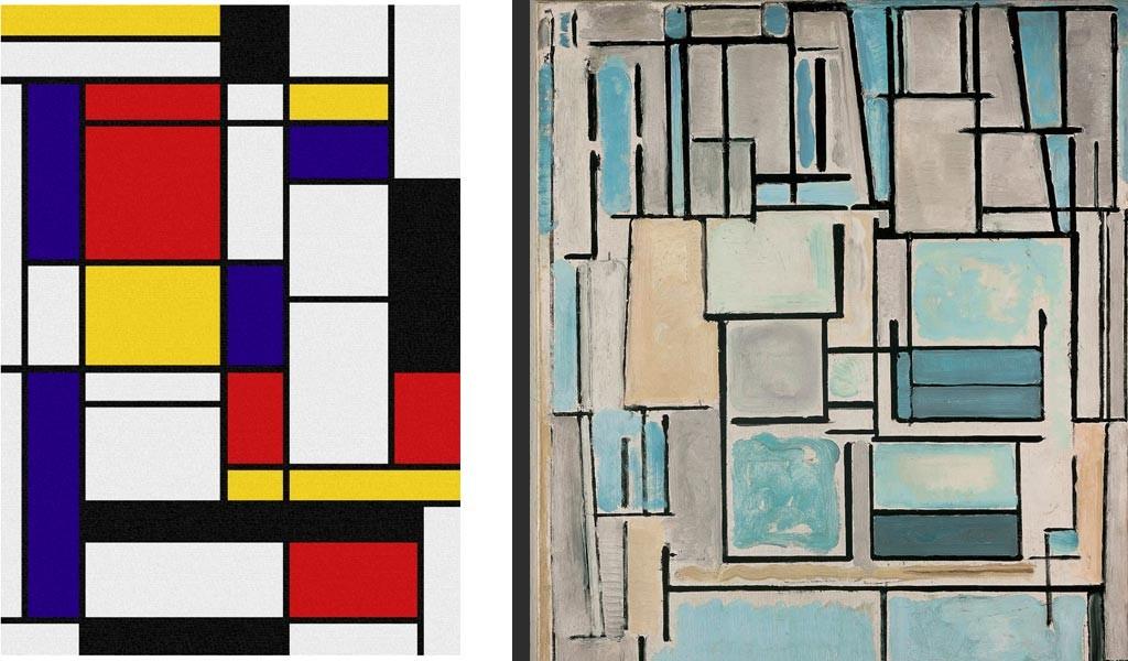 Piet-Mondrian - Tableaux