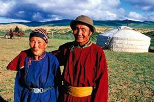 un camp en Mongolie