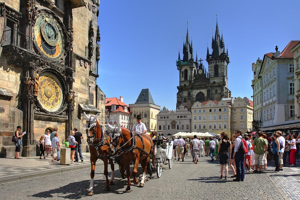 Vielle ville de Prague