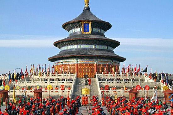 Chine - Temple de Pekin