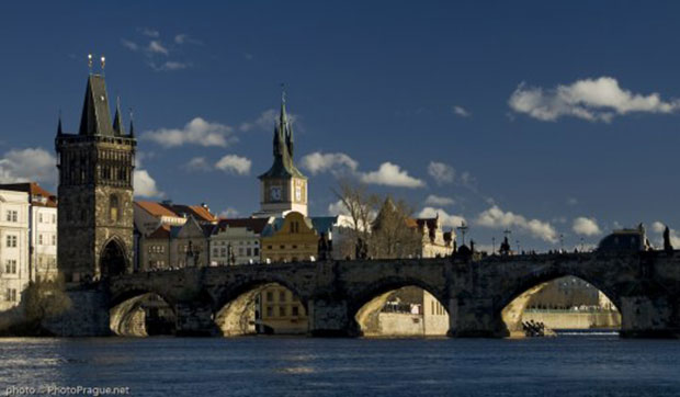 Photo du pont Charles à Prague
