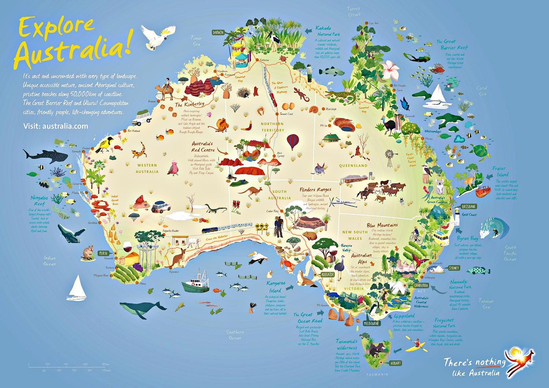 Carte Geologique Australie.Partir En Australie Pour Le Sport Ou Les Vacances Vacances Arts